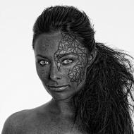 Model & MUA: Kasia Wasilewska