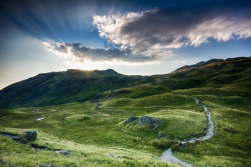 Wrynose Pass, The Lake District, England